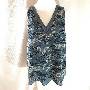 🎃Banana Republic Camo Tank Size Large